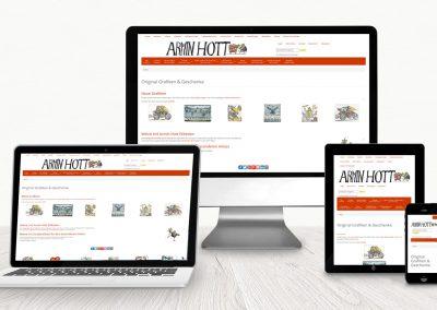 Website Armin Hott Kandel